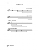A major scale_vn