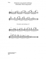 Chromatic scale – dim 7ths for top 8ve_va