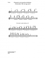 Chromatic scale – dim 7ths for top 8ve_vn