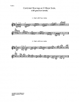 Combination bowings g major scale_vn