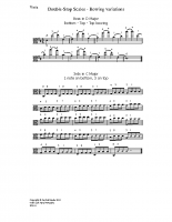 Double-stop scales – bow variations_va