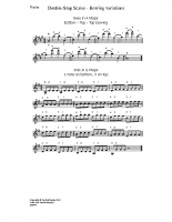 Double-stop scales – bow variations_vn