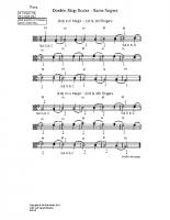 Double-stop scales – same fingers_va