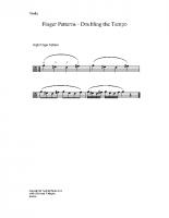 Finger patterns doubling tempo_va