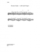 Kreutzer 11 w. guide fingers_vn