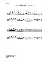 Left hand frame exercises_va