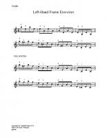 Left hand frame exercises_vn