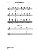Matching harmonics_vn