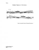 Rhythm patterns in 3-8ve scale_vn