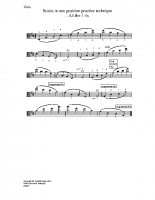 Scales in one position – all the 1-4s_va