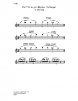 Use vibrato as practice technique_vn